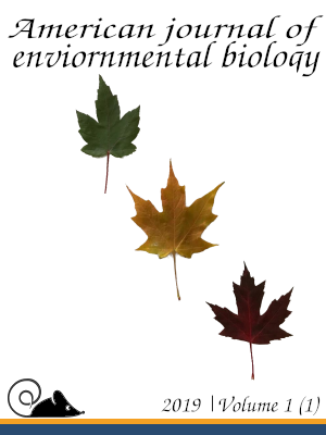 Draft cover 2 for American journal of environmental biology.