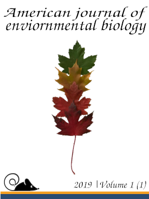 Draft cover 1 for American journal of environmental biology.