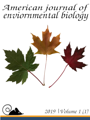 Draft cover 3 for American journal of environmental biology.